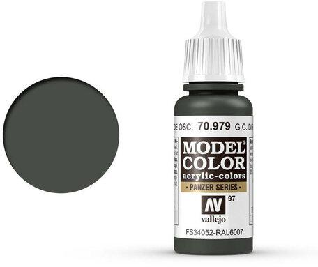 097. Vallejo Model Color: German Camo Dark Green (70.979)
