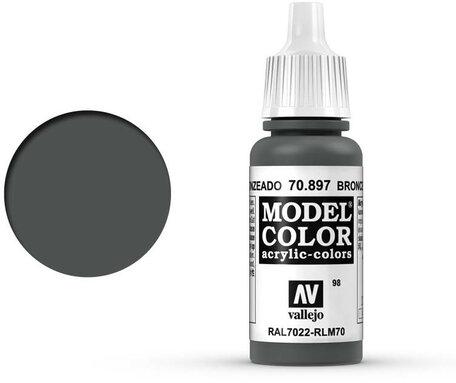 098. Vallejo Model Color: Bronze Green (70.897)