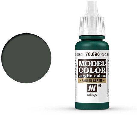 099. Vallejo Model Color: German Camo Extra Dark Green (70.896)