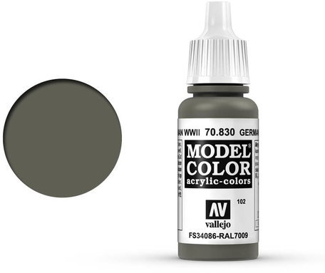 102. Vallejo Model Color: German Fieldgrey WWII (70.830)