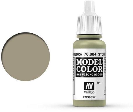 104. Vallejo Model Color: Stone Grey (70.884)