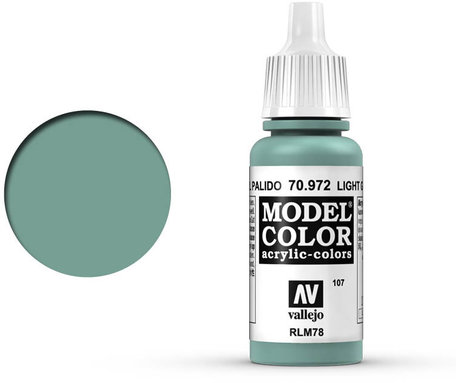 107. Vallejo Model Color: Light Green Blue (70.972)
