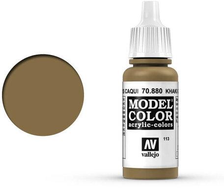 113. Vallejo Model Color: Khaki Green (70.880)