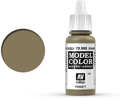 115. Vallejo Model Color: Khaki (70.988)