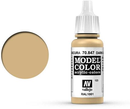 123. Vallejo Model Color: Dark Sand (70.847)