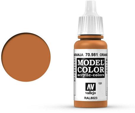 131. Vallejo Model Color: Orange Brown (70.981)