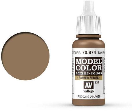 134. Vallejo Model Color: Tan-Earth (70.874)