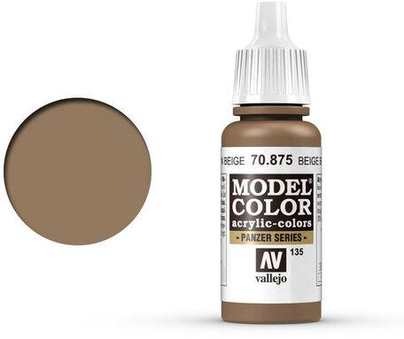 135. Vallejo Model Color: Beige Brown (70.875)