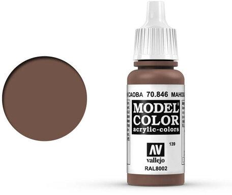139. Vallejo Model Color: Mahogany Brown (70.846)