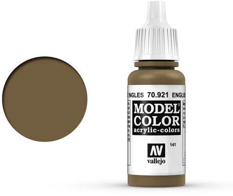 141. Vallejo Model Color: English Uniform (70.921)