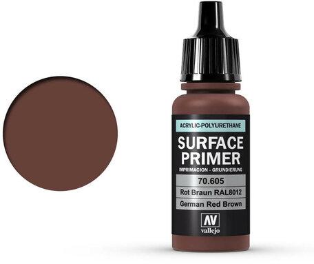 Vallejo Surface Primer: German Red Brown (70.605)