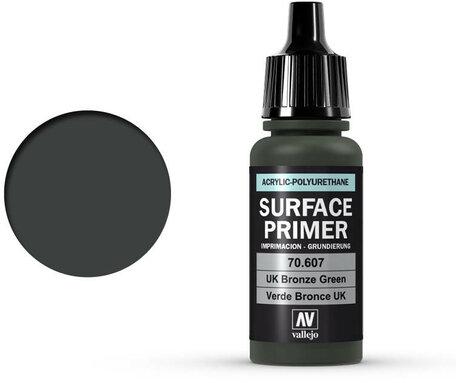 Vallejo Surface Primer: U.K. Bronze Green (70.607)
