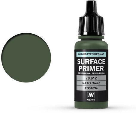 Vallejo Surface Primer: NATO Green (70.612)