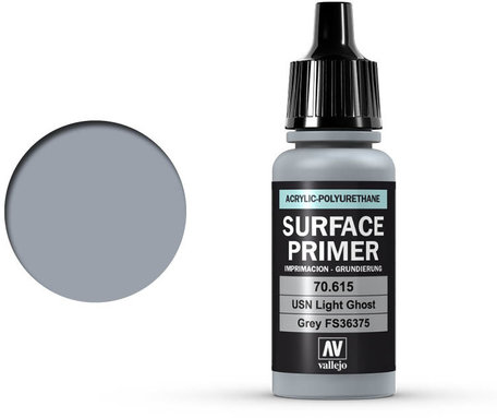 Vallejo Surface Primer: USN Light Ghost Grey (70.615)