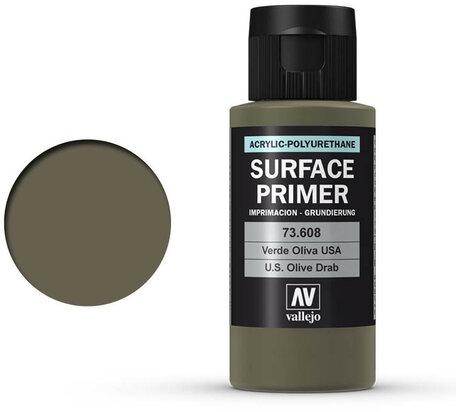Vallejo Surface Primer: U.S. Olive Drab (73.608)