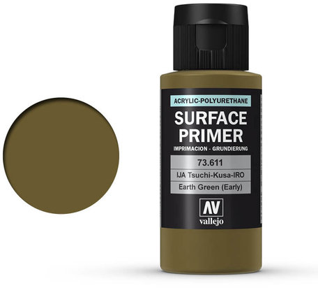 Vallejo Surface Primer: Earth Green (73.611)