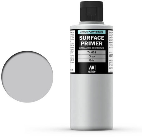 Vallejo Surface Primer: Grey (74.601)