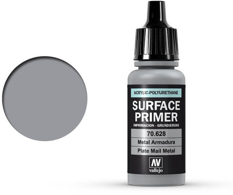 Vallejo Surface Primer: Plate Mail Metal (70.628)