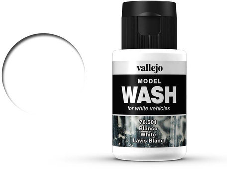 Vallejo Model Wash: White (76.501)