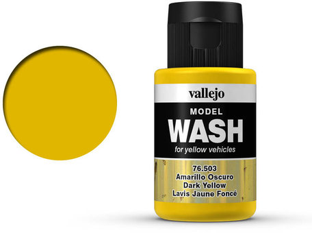 Vallejo Model Wash: Dark Yellow (76.503)