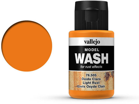 Vallejo Model Wash: Light Rust (76.505)