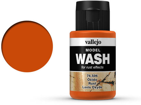 Vallejo Model Wash: Rust (76.506)