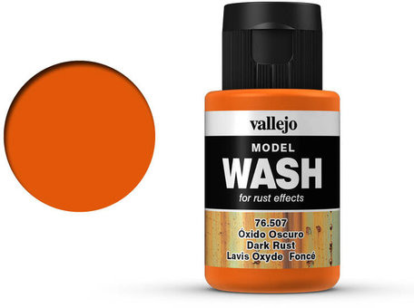 Vallejo Model Wash: Dark Rust (76.507)