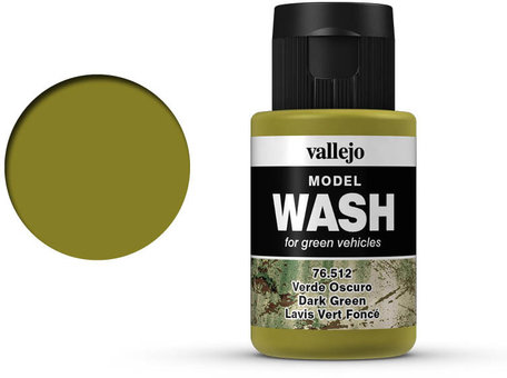 Vallejo Model Wash: Dark Green (76.512)