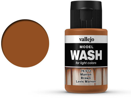 Vallejo Model Wash: Brown (76.513)