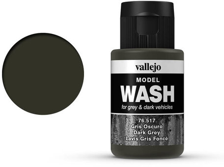 Vallejo Model Wash: Dark Grey (76.517)