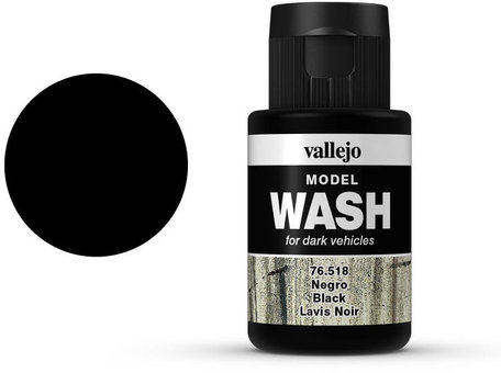 Vallejo Model Wash: Black (76.518)