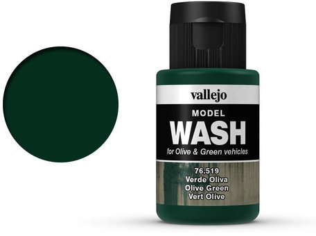Vallejo Model Wash: Olive Green (76.519)