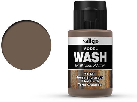 Vallejo Model Wash: Oiled Earth (76.521)