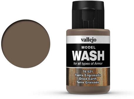 Vallejo Model Wash: Oiled Earth (76.521)