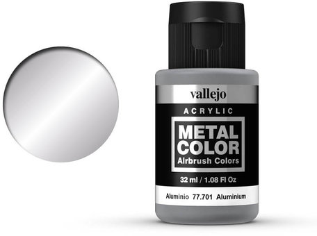 Vallejo Metal Color: Aluminium (77.701)