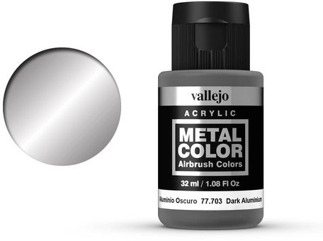 Vallejo Metal Color: Dark Aluminium (77.703)