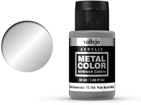 Vallejo Metal Color: Pale Burnt Metal (77.704)
