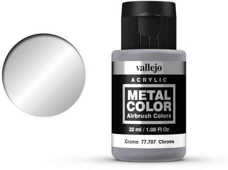 Vallejo Metal Color: Chrome (77.707)