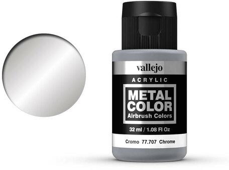 Vallejo Metal Color: Chrome (77.707)