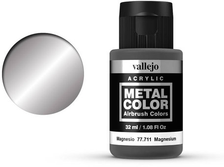 Vallejo Metal Color: Magnesium (77.711)