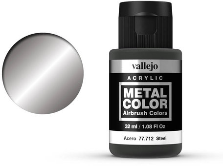 Vallejo Metal Color: Steel (77.712)