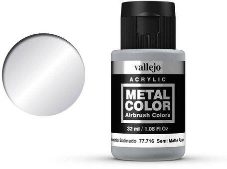 Vallejo Metal Color: Semi Matte Aluminium (77.716)