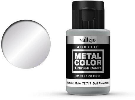 Vallejo Metal Color: Dull Aluminium (77.717)
