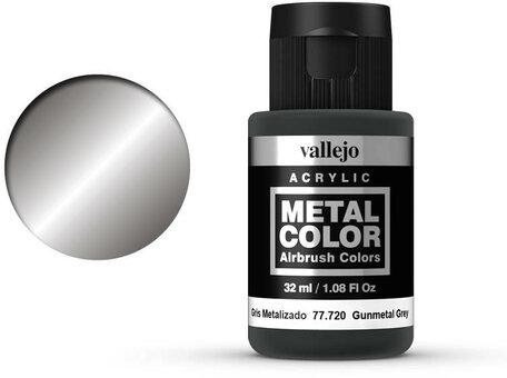 Vallejo Metal Color: Gunmetal Grey (77.720)