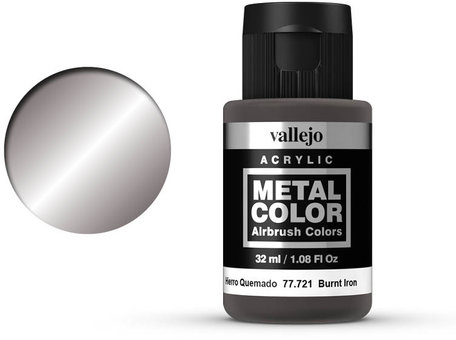 Vallejo Metal Color: Burnt Iron (77.721)