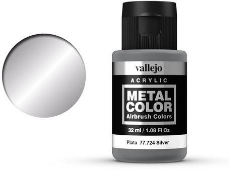 Vallejo Metal Color: Silver (77.724)