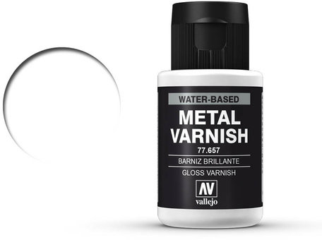 Vallejo Vernis: Gloss Metal (77.657)