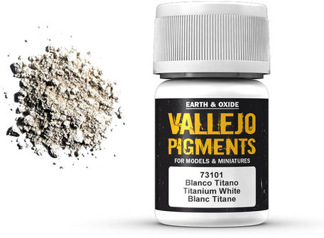 Vallejo Pigment: Titanium White (73.101)