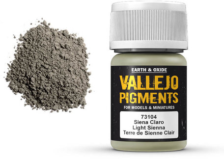 Vallejo Pigment: Light Sienna (73.104)