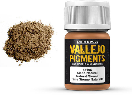 Vallejo Pigment: Natural Sienna (73.105)
